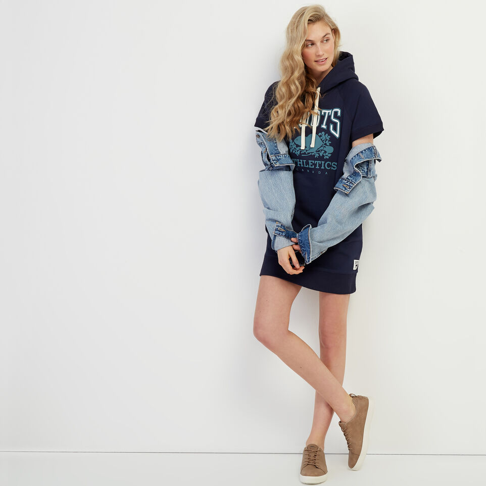 Roots-New For March Rba Collection-RBA Hooded Dress-Navy Blazer-B