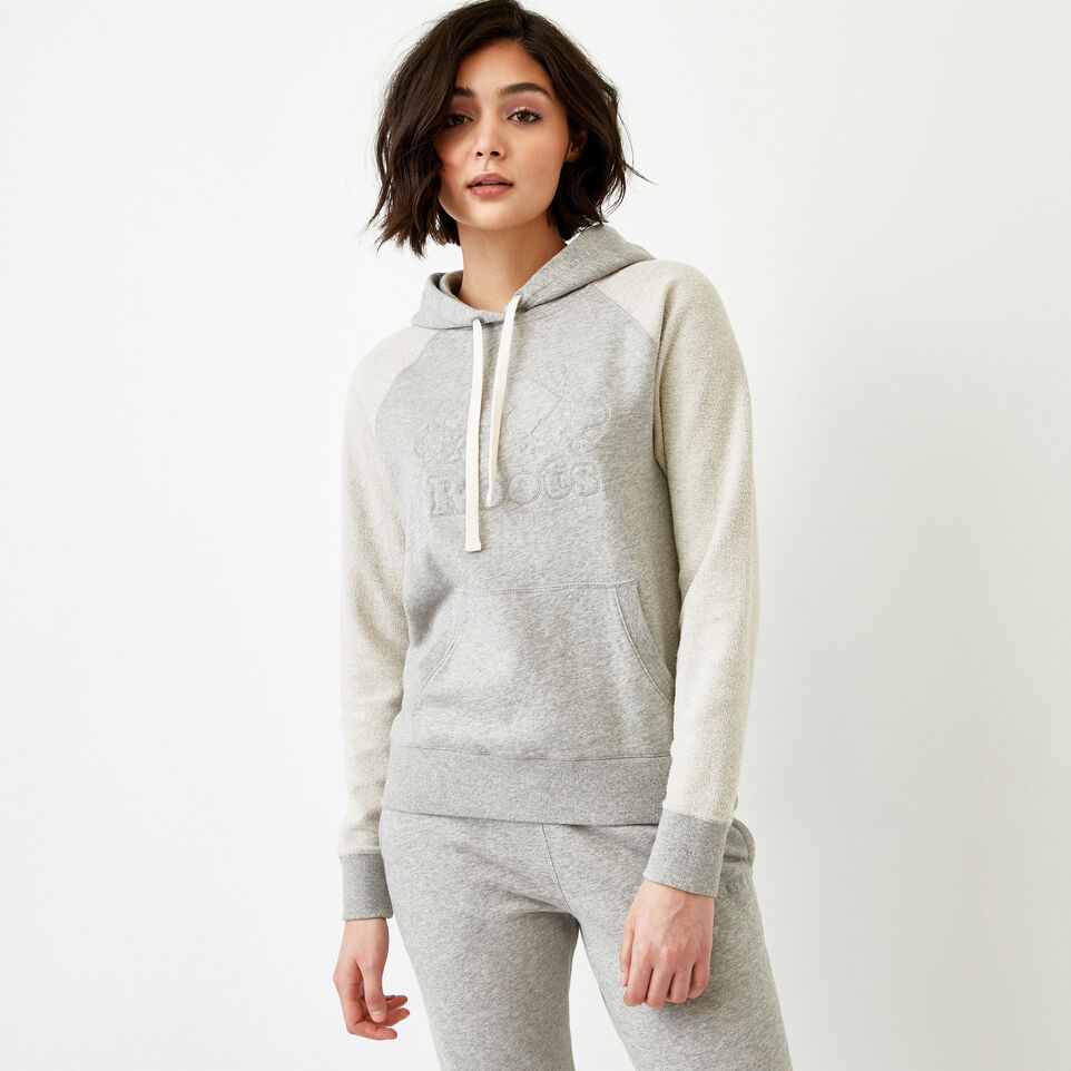 Roots-Women Our Favourite New Arrivals-Weymouth Hoody-Grey Mix-A