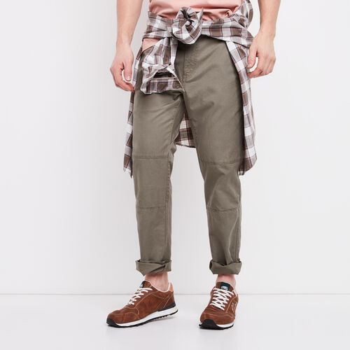 Roots-Winter Sale Bottoms-Sail Pant-Dusty Olive-A