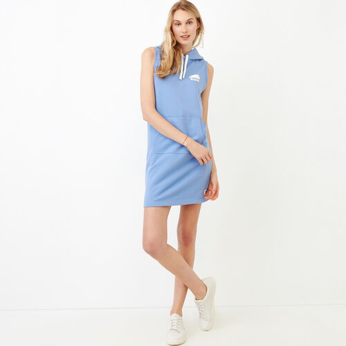 Roots-New For June Sweats-Sleeveless Kanga Dress-Blue Bonnet-A