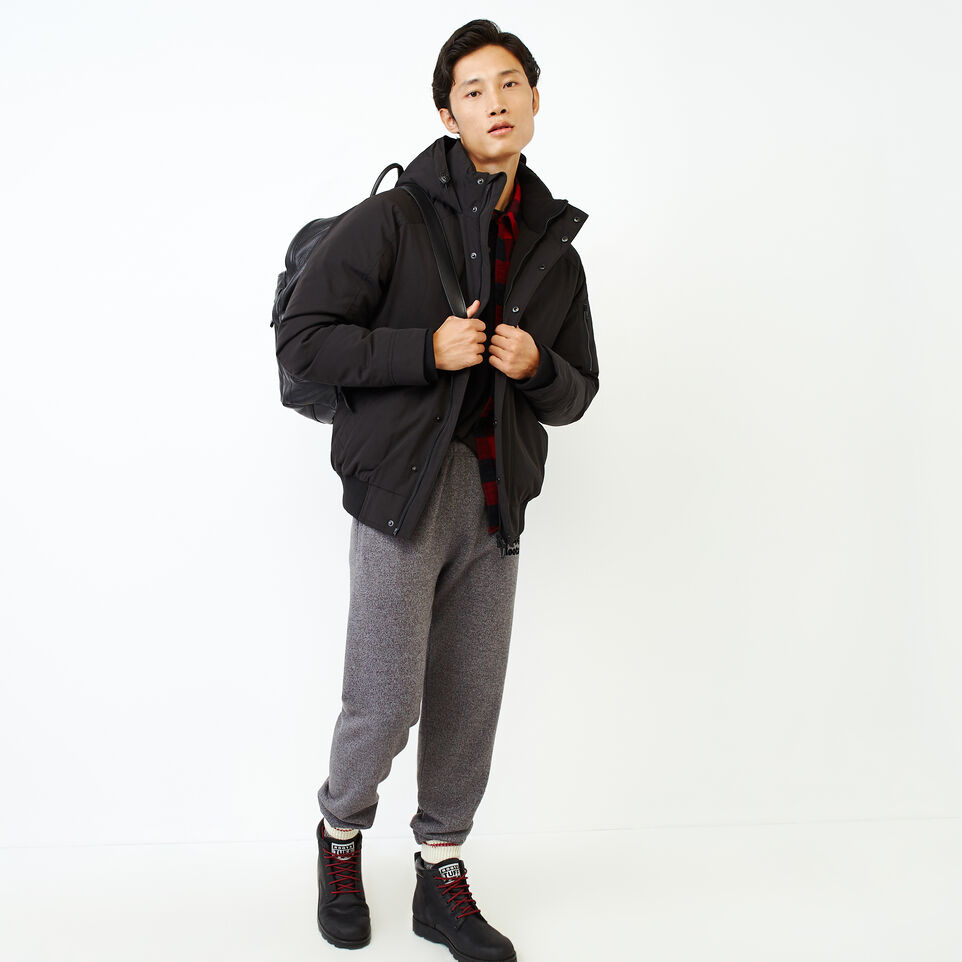 Roots-Men Our Favourite New Arrivals-Tobermory Down Jacket-Black-B