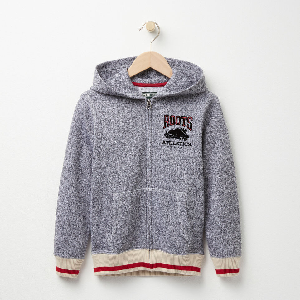 Roots-undefined-Boys Roots Cabin Full Zip Hoody-undefined-A