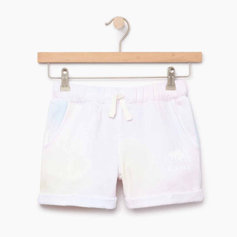 Roots-undefined-Girls Watercolour Short-undefined-A