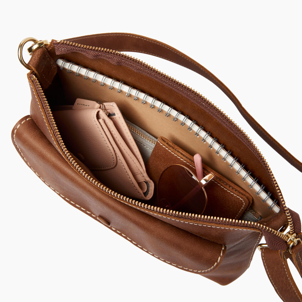 Roots-Leather  Handcrafted By Us Our Favourite New Arrivals-Richmond Crossbody-Natural-D