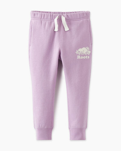Roots-Kids Toddler Girls-Toddler Slim Cuff Sweatpant-Lupine-A