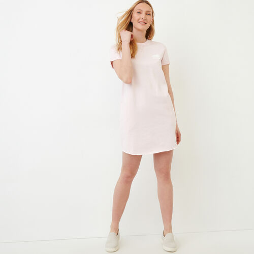 Roots-Women Our Favourite New Arrivals-Edith Cuffed Dress-Cradle Pink Pepper-A