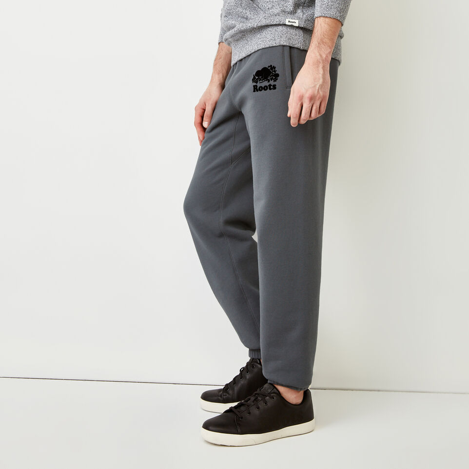 Roots-Men Our Favourite New Arrivals-Original Sweatpant-Iron Gate-C
