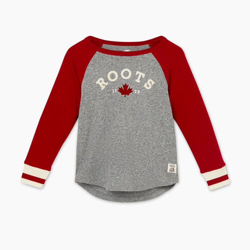 Roots-Sale Toddler-Toddler Cabin Baseball T-shirt-Cabin Red-A