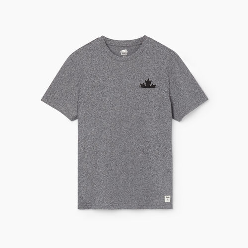 Roots-Men New Arrivals-Mens Maple Pocket T-shirt-Salt & Pepper-A