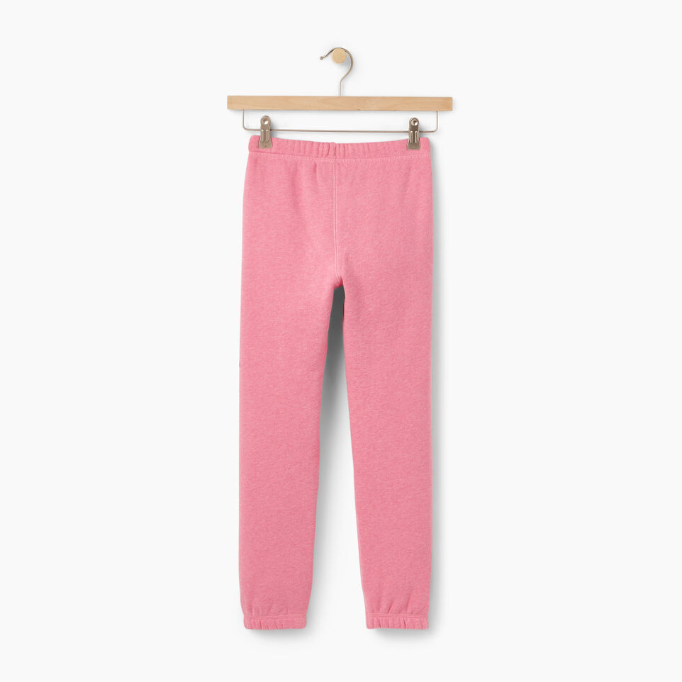 Roots-Winter Sale Kids-Girls Roots Remix Sweatpant-Pink Mix-B