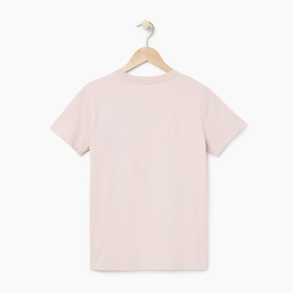 Roots-New For March Daily Offer-Womens Communication T-shirt-Burnished Lilac-B