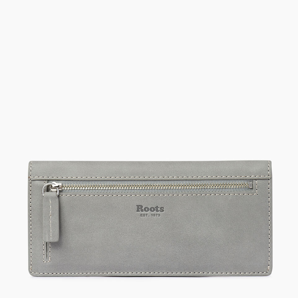 Roots-Leather  Handcrafted By Us Our Favourite New Arrivals-Riverdale Slim Wallet-Quartz-B