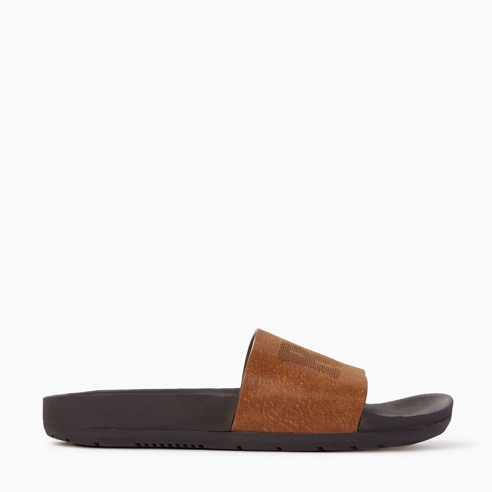 Roots-Footwear Our Favourite New Arrivals-Womens Long Beach Pool Slide-Natural-A