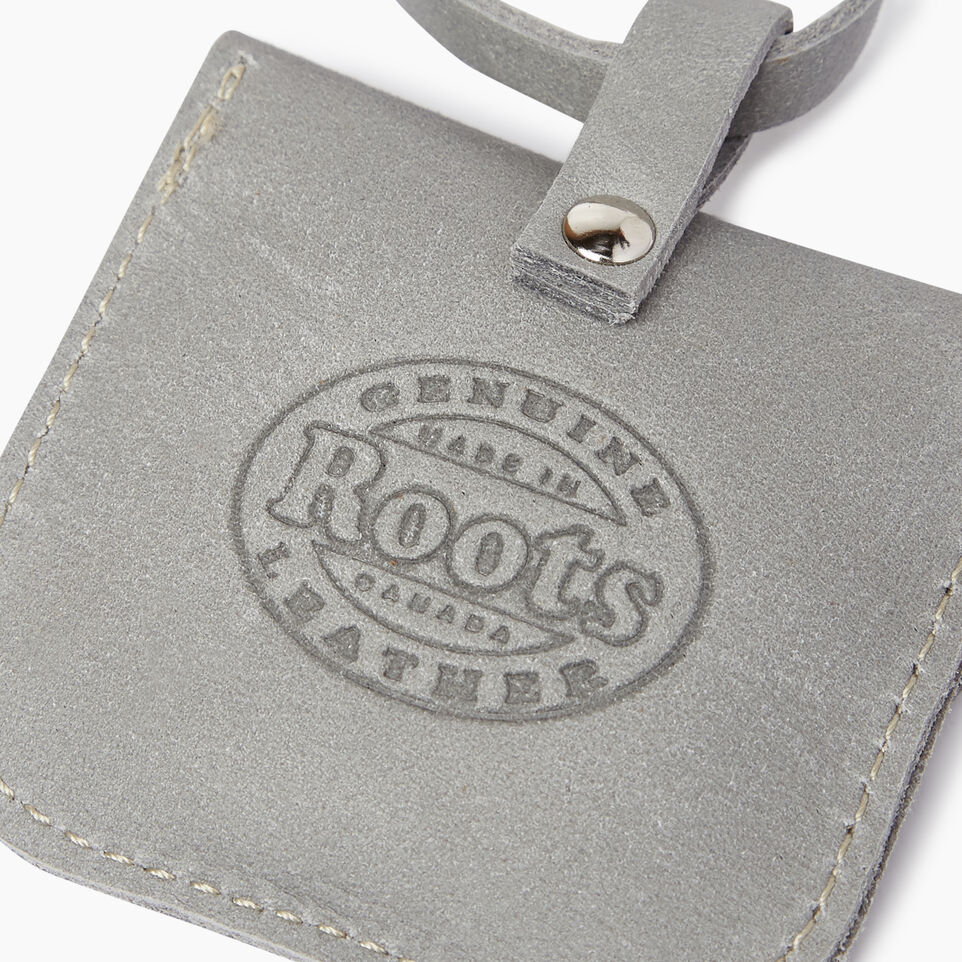 Roots-Men Leather Accessories-Leather Tie Pouch-Quartz-C