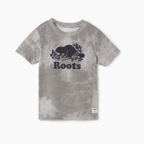 Roots-Kids Toddler Boys-Toddler Cooper Beaver T-shirt-Charcoal-A