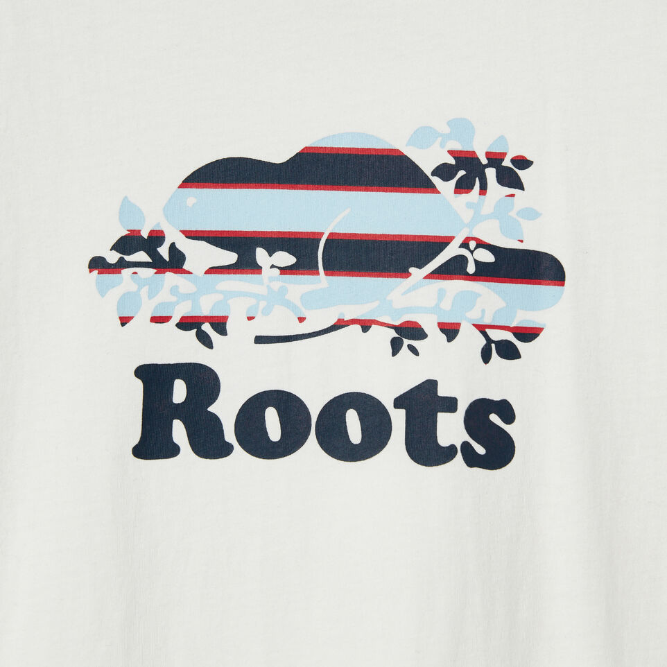Roots-undefined-Boys Cooper Rugby Stripe T-shirt-undefined-D