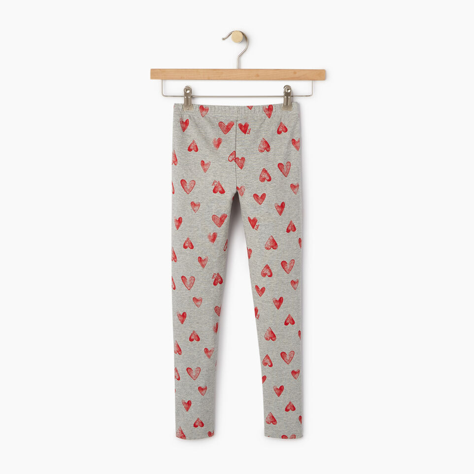 Roots-undefined-Girls Cooper Hearts Legging-undefined-B