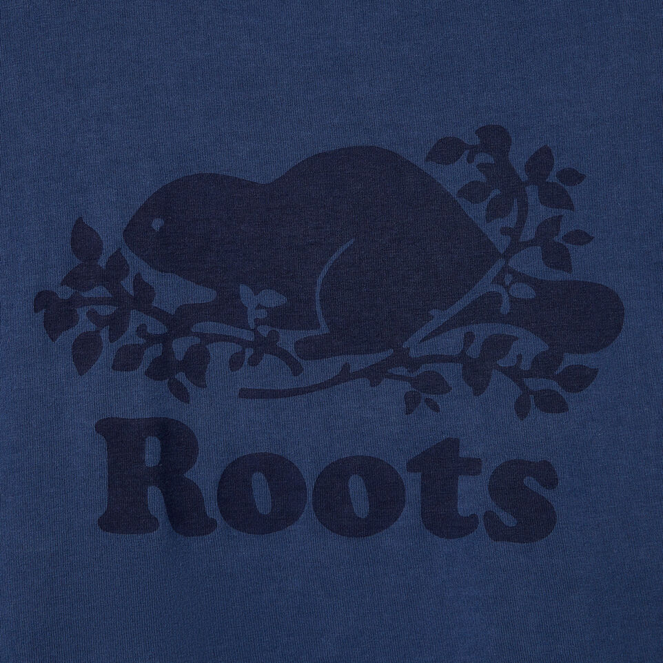 Roots-New For August Women-Womens Sunkissed T-shirt-Sargasso Sea-D