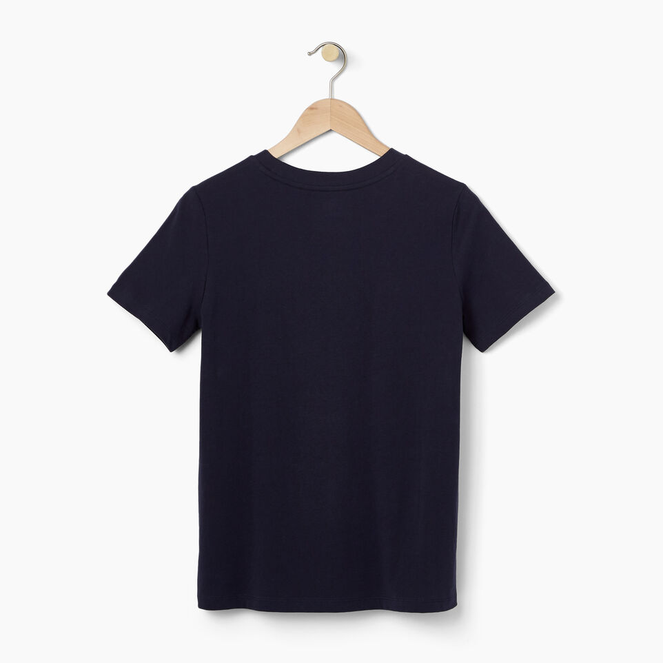 Roots-undefined-Womens Striped Beaver T-shirt-undefined-B