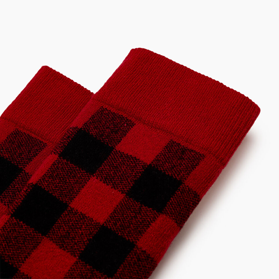 Roots-undefined-Kids Park Plaid Boot Sock-undefined-B