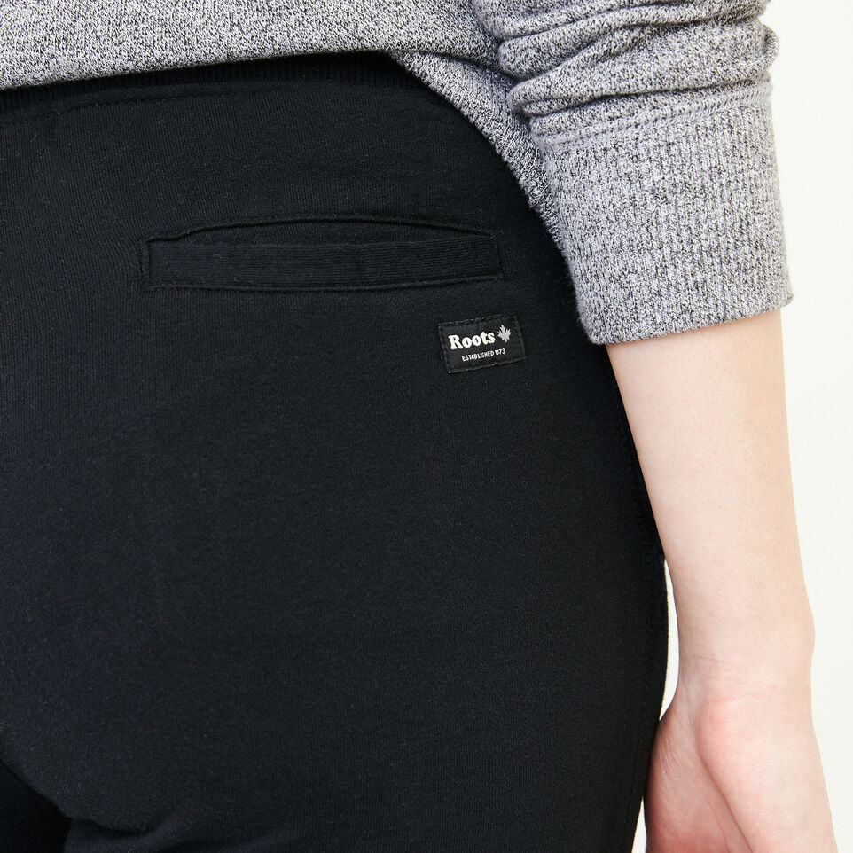 Roots-undefined-Melange Terry Sweatpant-undefined-E