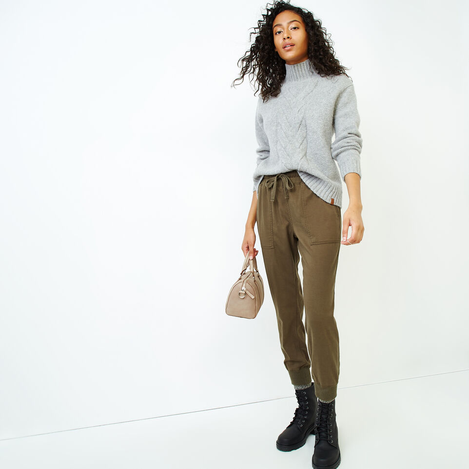 Roots-Women Our Favourite New Arrivals-Nita Cable Sweater-Snowy Ice Mix-B