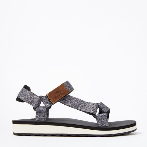 Roots-Sale Footwear-Womens Tofino Sandal Web-Salt & Pepper-A