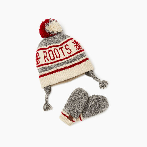 Roots-Sale Kids-Toddler Cabin Gift Set-Grey Oat Mix-A