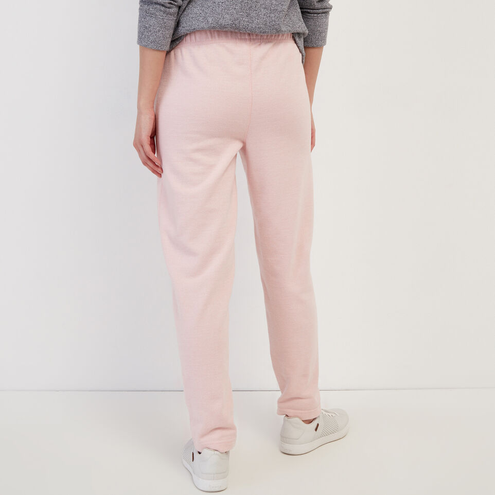 Roots-Sweats Sweatpants-Easy Ankle Sweatpant-Silver Pink Pepper-D