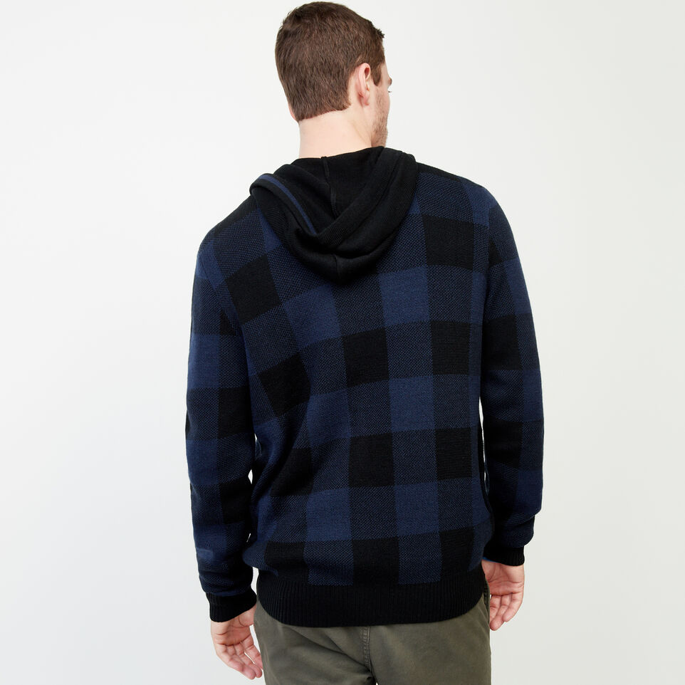 Roots-Winter Sale Men-Manitou Hooded Sweater-Navy Blazer-D