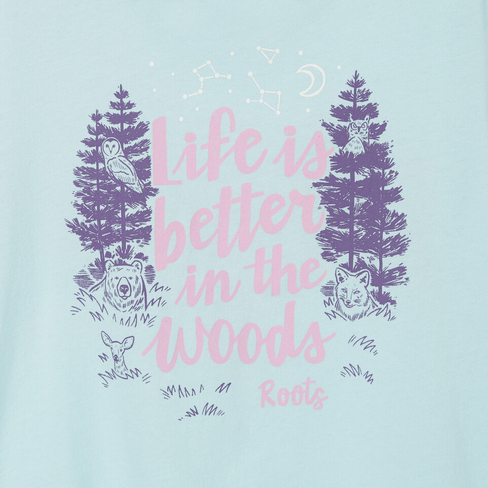 Roots-undefined-Girls Life Is Better T-shirt-undefined-C