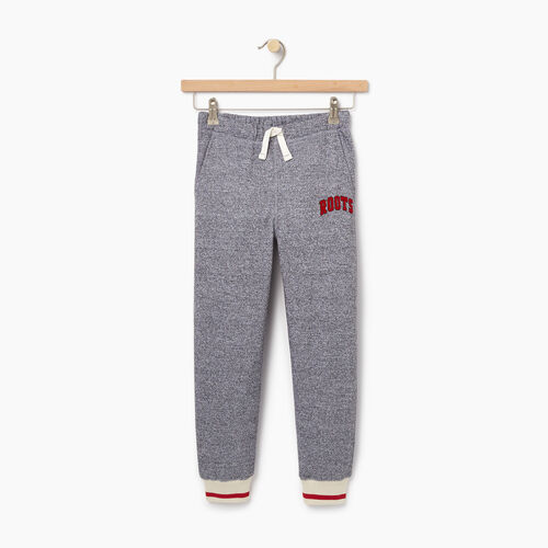 Roots-Kids Bestsellers-Boys Roots Cabin Sweatpant-Salt & Pepper-A