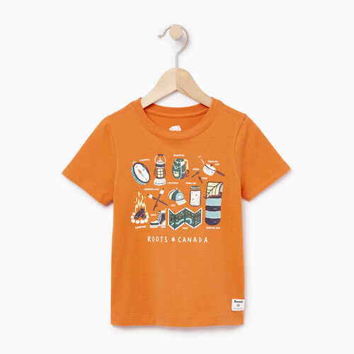Roots-Kids Our Favourite New Arrivals-Toddler Aop Glow In The Dark T-shirt-Jaffa Orange-A