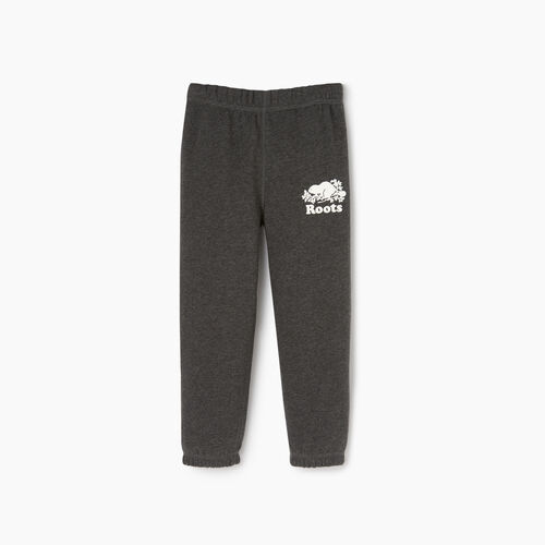 Roots-Kids Toddler Boys-Toddler Original Sweatpant-Charcoal Mix-A