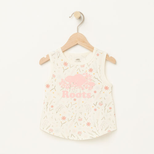 Roots-Kids Bestsellers-Baby Classic Cooper Tank-Pale Blush-A