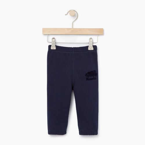 Roots-Kids Bottoms-Baby Original Sweatpant-Navy Blazer-A