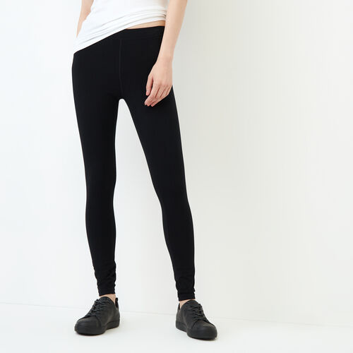 Roots-Women Categories-Essential Legging-Black-A
