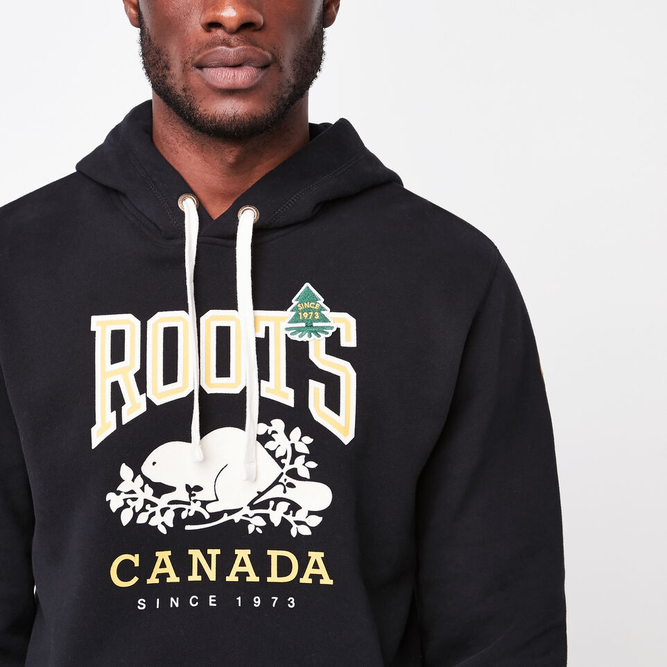 Roots-undefined-Chandail capuchon contrastant Héritage-undefined-C