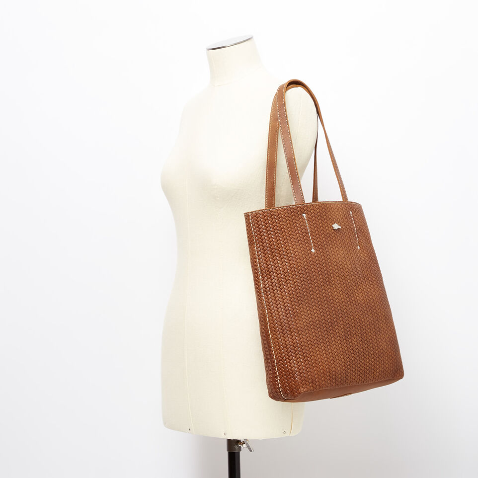 Roots-undefined-Large Downtown Tote Woven Tribe-undefined-B