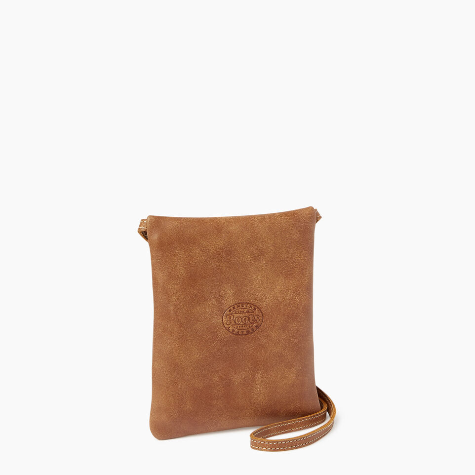 Roots-Leather  Handcrafted By Us Our Favourite New Arrivals-Trans Canada Pouch-undefined-C