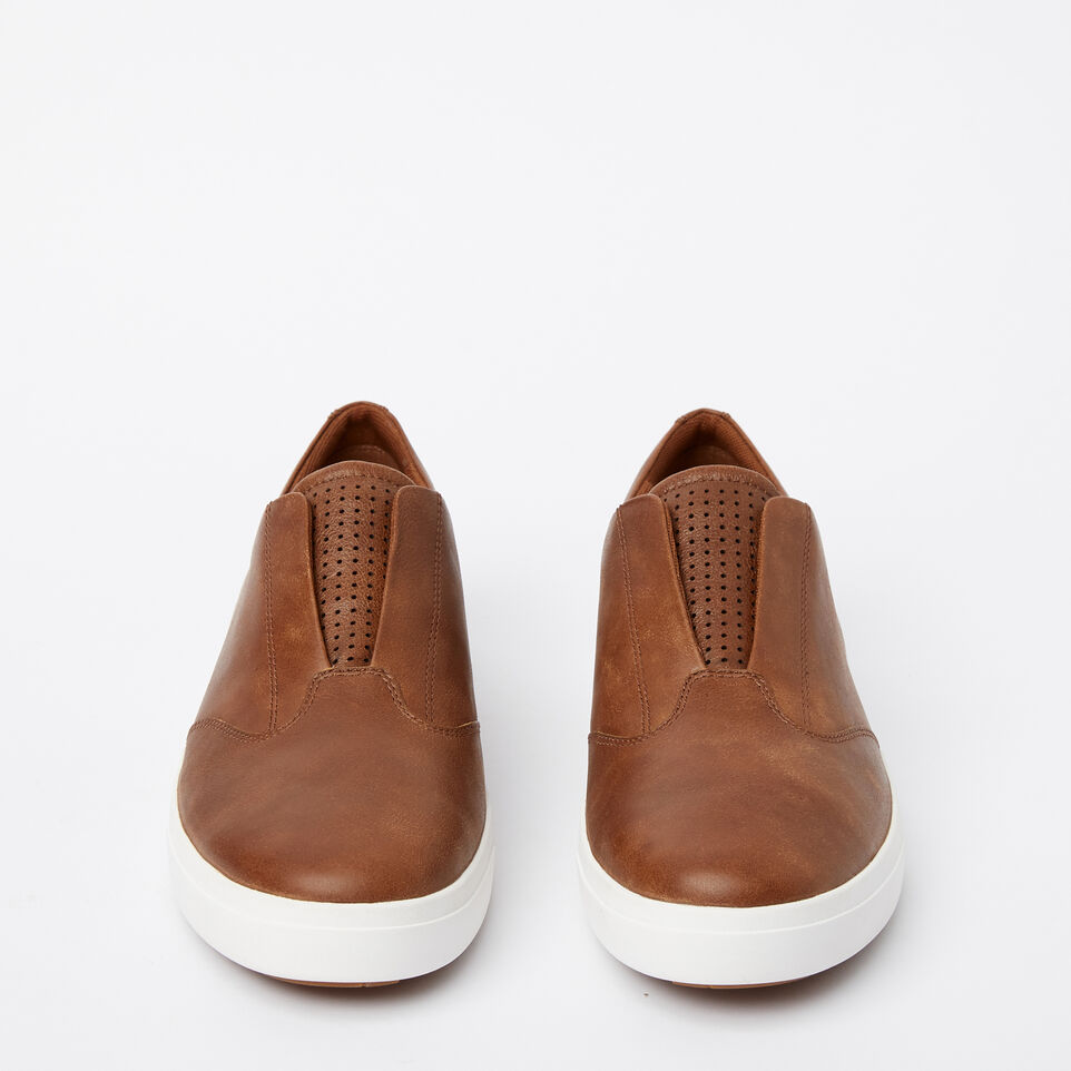 Roots-Sale Footwear-Mens Valley Slip On-Natural-D
