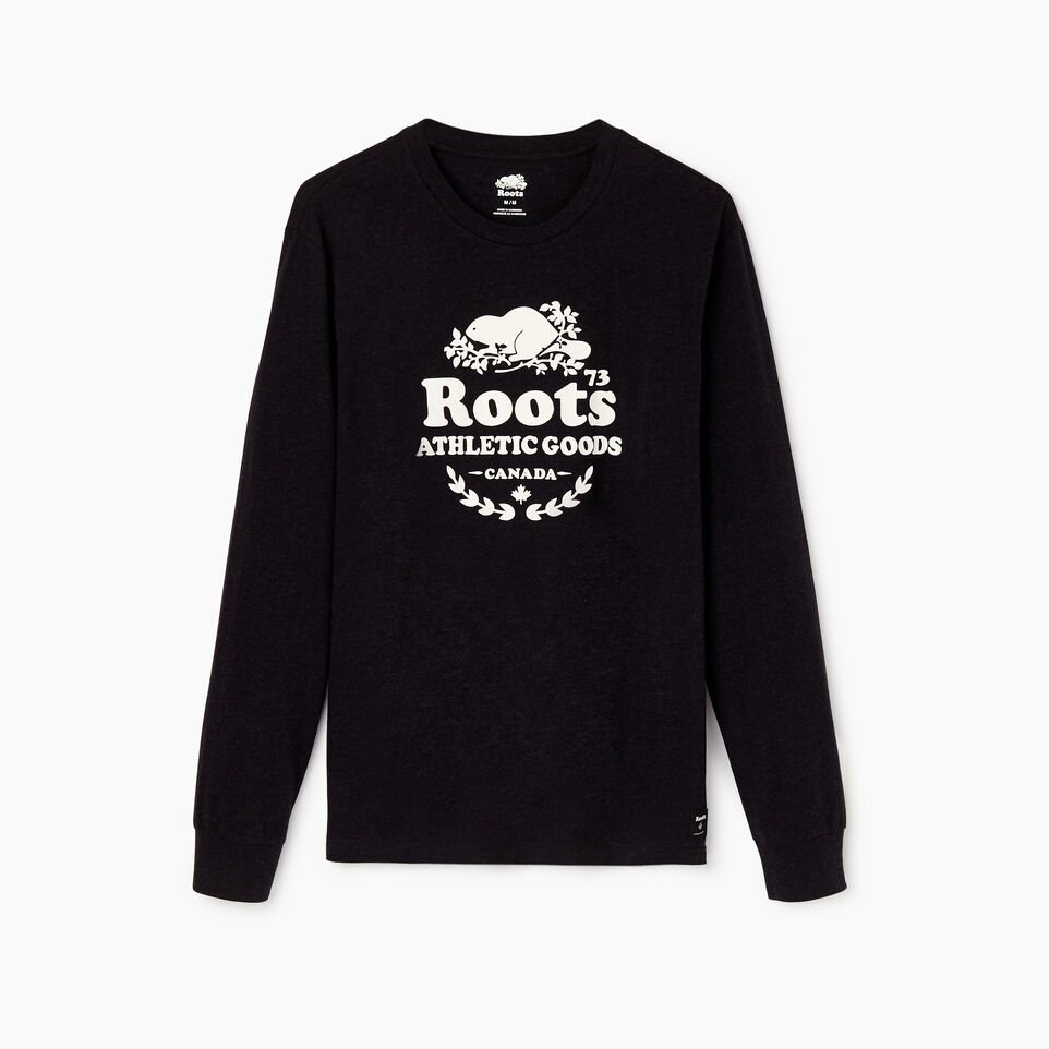Roots-undefined-Mens Laurel Long Sleeve T-shirt-undefined-A
