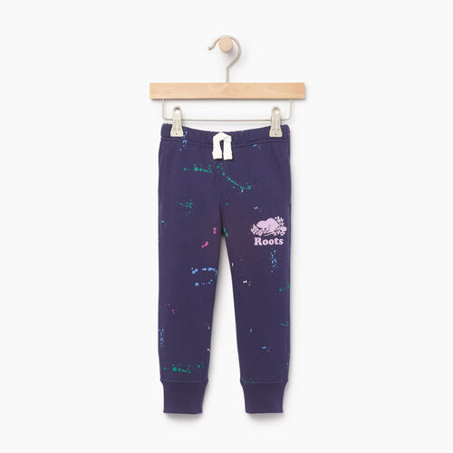 Roots-Clearance Kids-Toddler Splatter Sweatpant-Eclipse-A