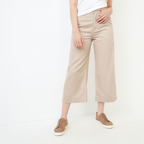 Roots-Women Categories-Widewater Pant-True Khaki-A