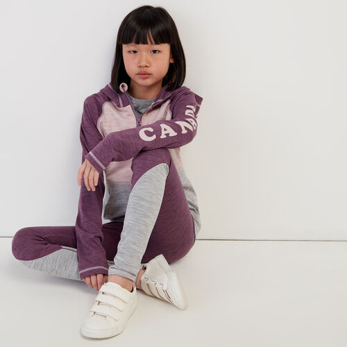 Roots-Sale Kids-Girls Lola Active Full Zip Hoody-Grape Jam-A