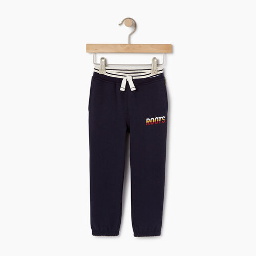 Roots-Clearance Kids-Toddler Roots Speedy Sweatpant-Navy Blazer-A