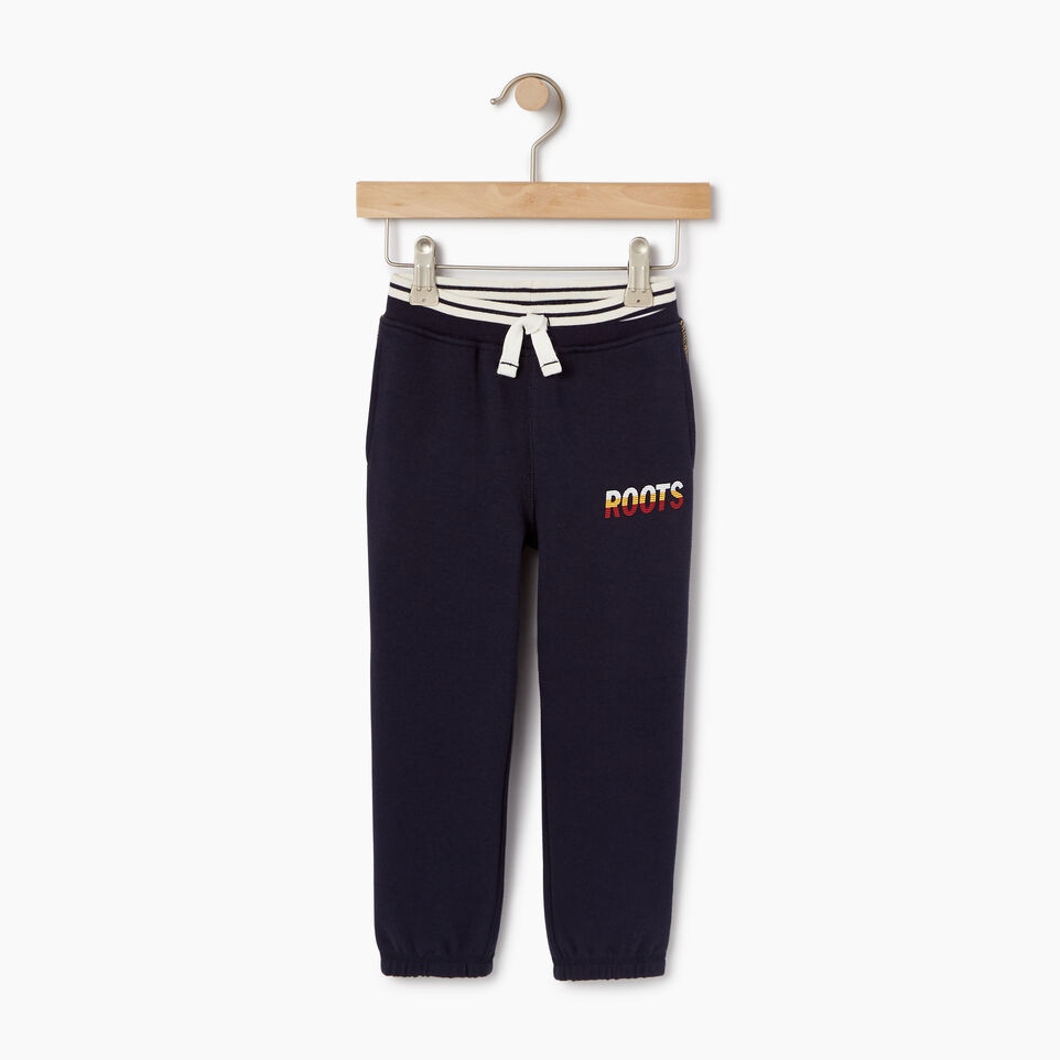 Roots-Kids Toddler Boys-Toddler Roots Speedy Sweatpant-Navy Blazer-A