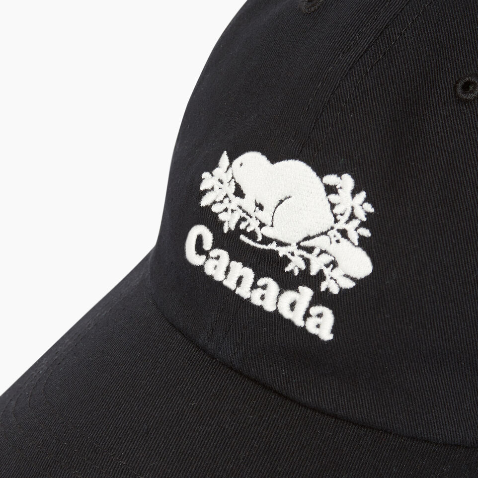 Roots-Women Our Favourite New Arrivals-Canada Baseball Cap-Black-D
