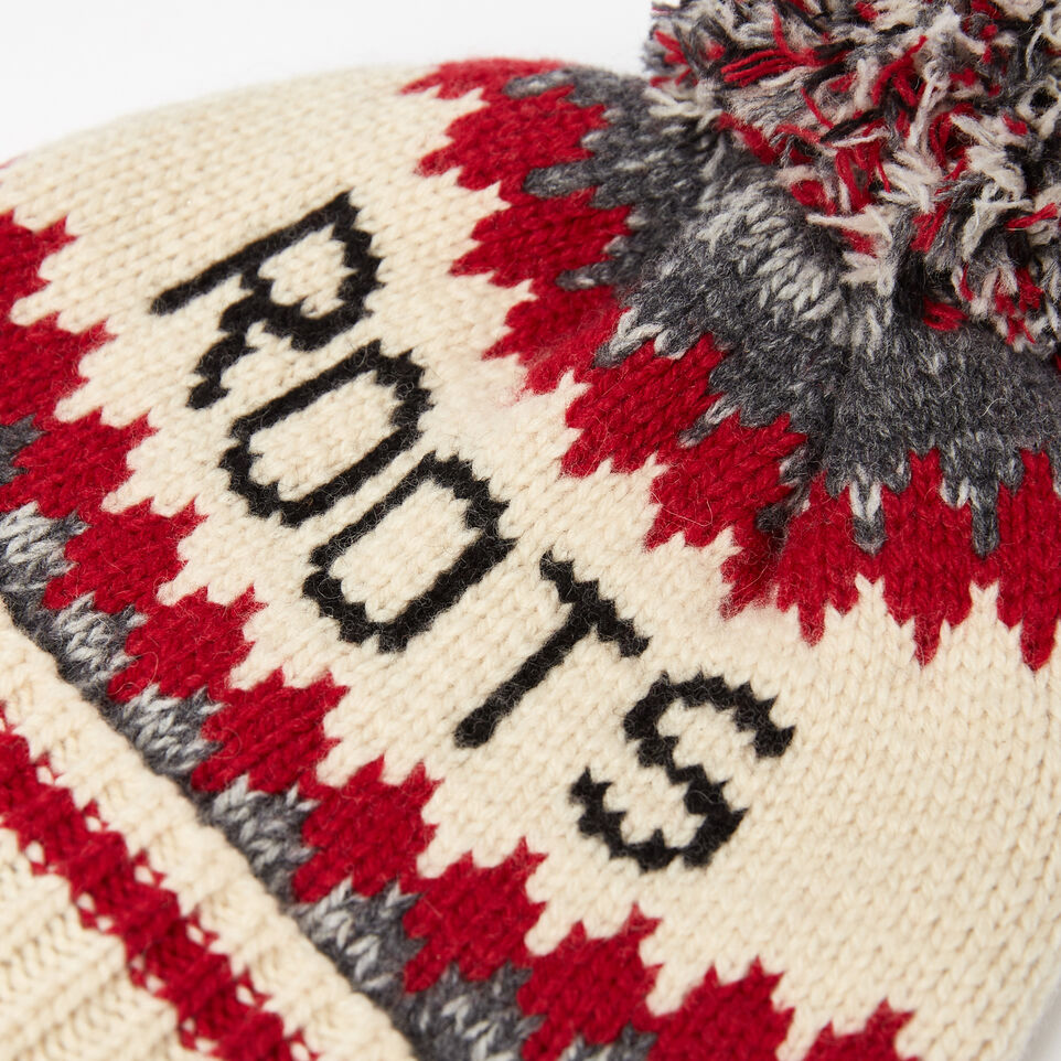 Roots-undefined-Roots Cabin Pom Pom Toque-undefined-D