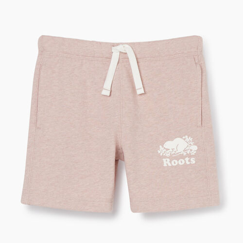 Roots-Kids New Arrivals-Girls Original Roots Short-Deauville Mauve Mix-A